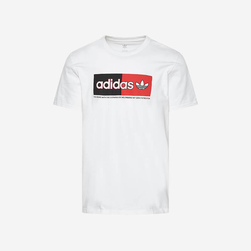 Shop the adidas Originals Split Logo NMD T-Shirt White