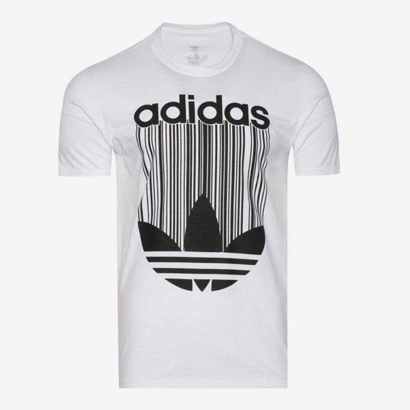 Shop the Mens' adidas Barcode Logo T-Shirt