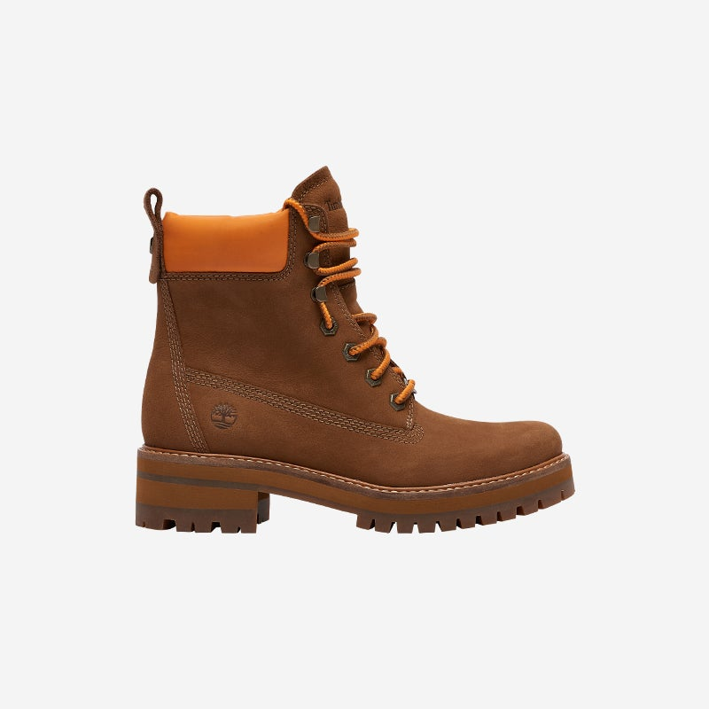 """Shop The Timberland Courmayeur Valley 6"""" Boots Brown"""