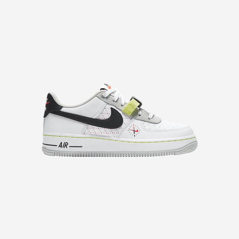 Shop the Boys Nike Air Force 1 Low Black