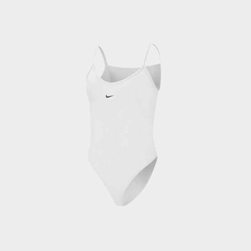 Shop the Women's Nike Essential Bodysuit in white/black.