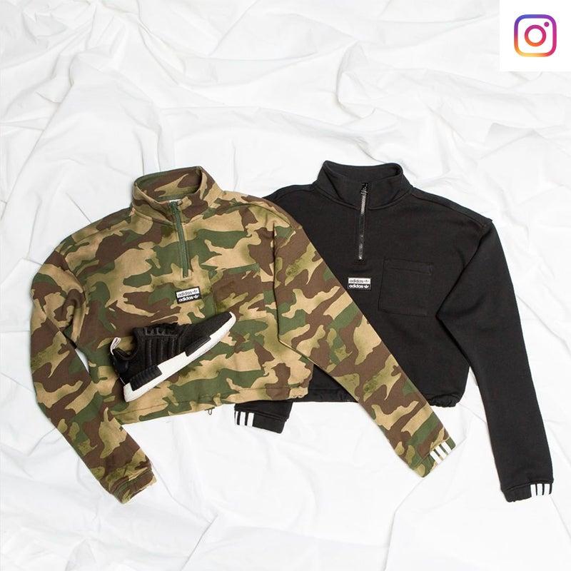 Shop Women's adidas Originals Camouflage apparel & footwear.