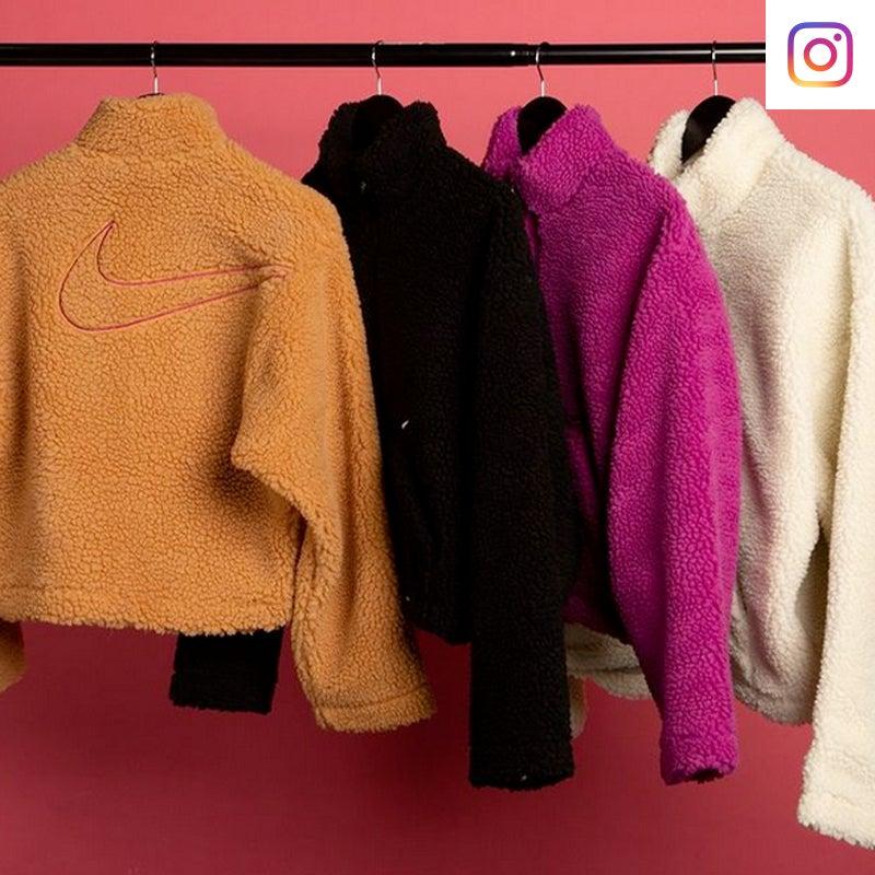 Shop Nike Sherpa Jacket