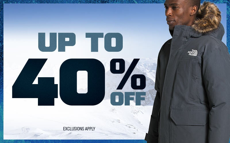 Up To 40% Off Past-Season Styles From The North Face