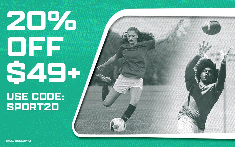 20% OFF $49+ H2: Use code: SPORT20 H2: EXCLUSIONS APPLY