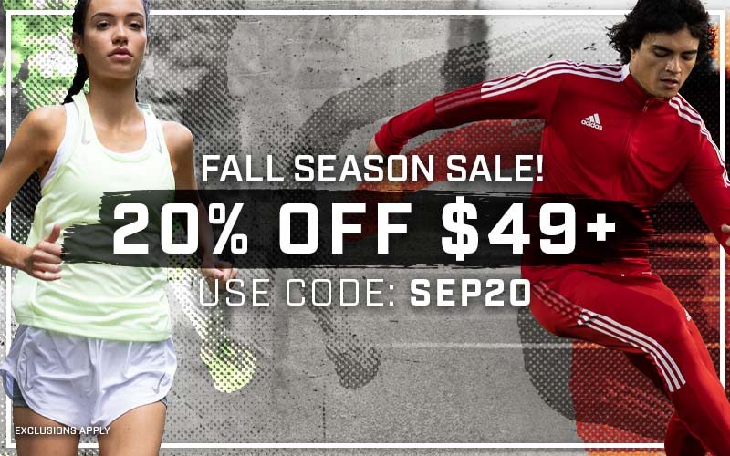 FALL SEASON SALE!  20% off $49+ Use code: SEP20 EXCLUSIONS APPLY