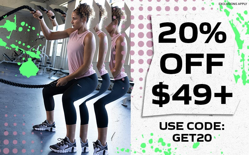 20% off $49+ Use code: GET20