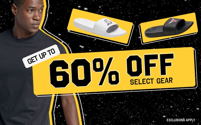 UP TO 60% OFF  Select Gear  EXCLUSIONS APPLY