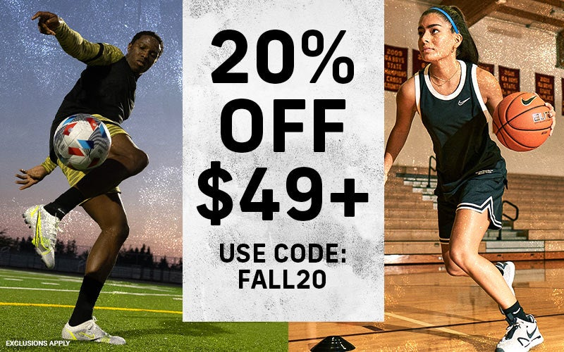 20% OFF $49+ Use code: FALL20  EXCLUSIONS APPLY