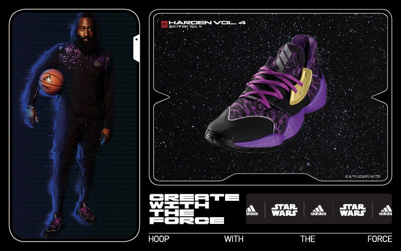 Hoop with the Force -- adidas Harden Vol. 4