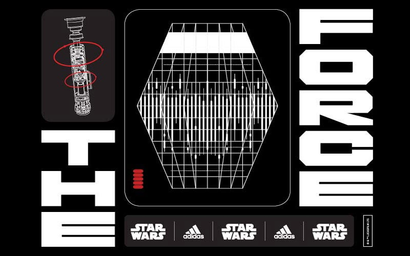 CREATE WITH THE FORCE - adidas x Star Wars