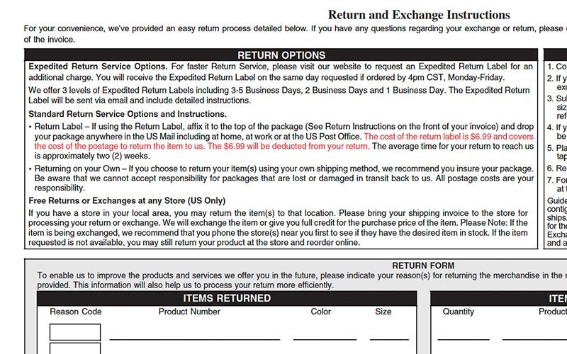 Return Policy: Satisfaction Guaranteed | Eastbay