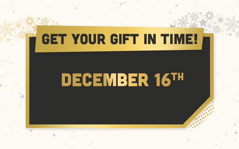 Get your gift in time!
