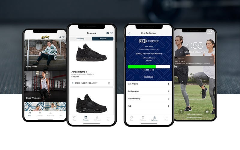 Download the new Eastbay mobile app.