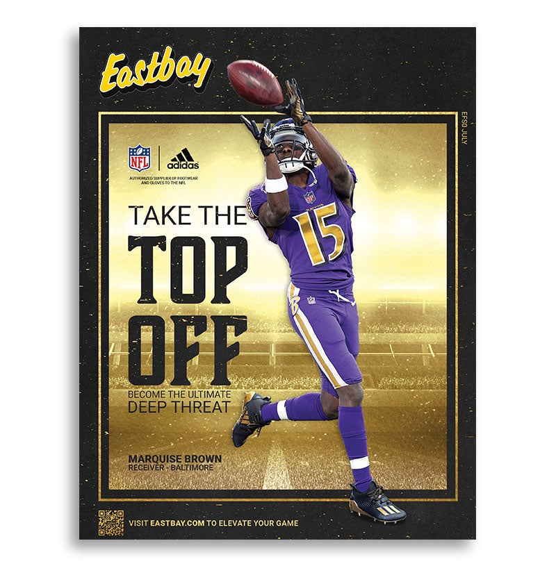 July Eastbay Catalog - Marquise Brown Baltimore Ravens Wide Receiver