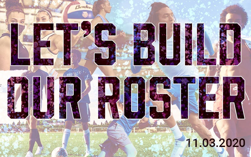 Let's build our roster 11.03.2020