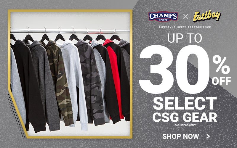 Up to 30% Off Select CSG Gear. Shop Now