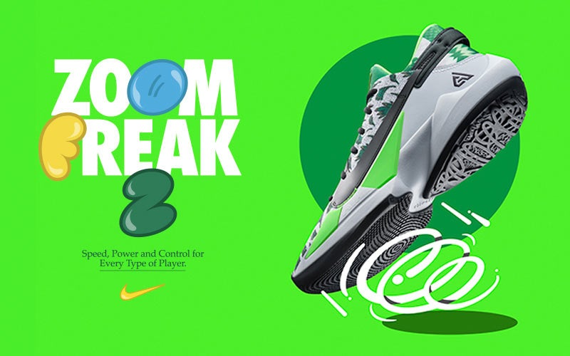 Nike Zoom Freak 2. Speed, Power and Control for Every Type of Player