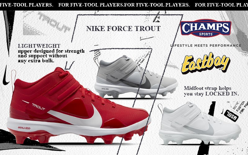 Shop Eastbay Nike Trout 7.