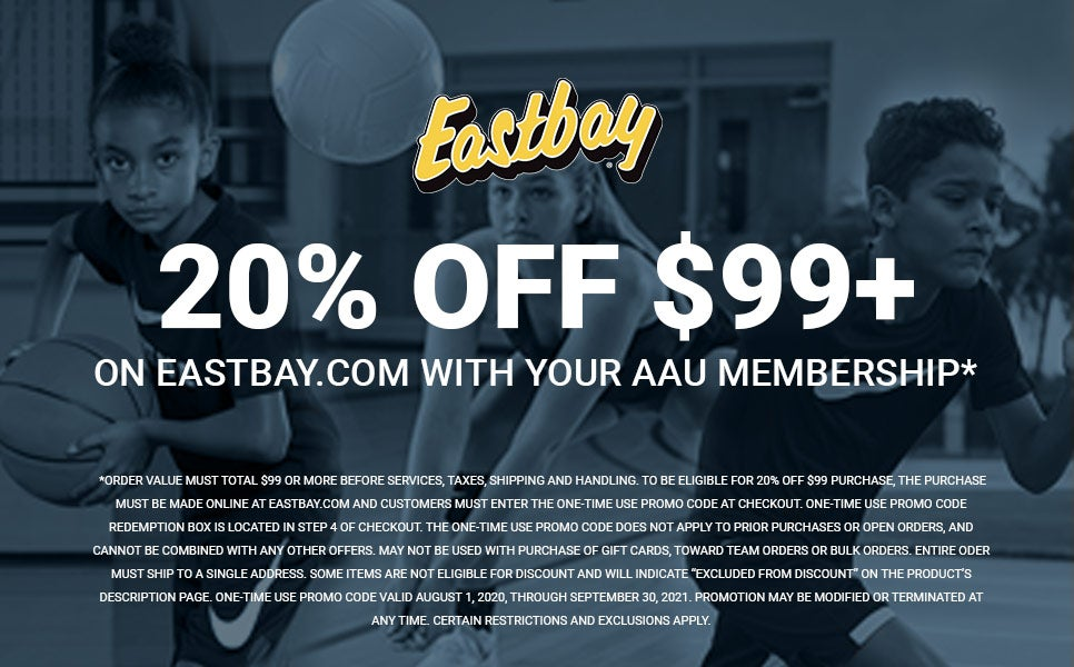 AAU Membership: $20 off your next $99 Purchase. Exclusions apply.