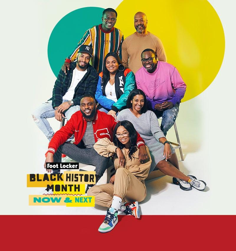 Foot Locker Black History Month. Now & Next