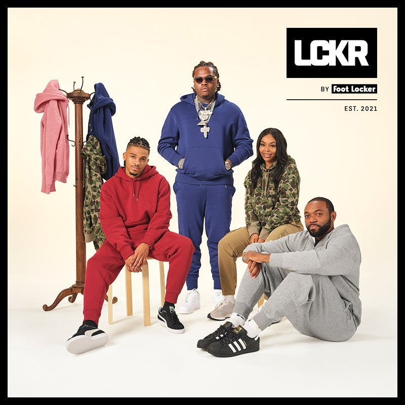 LCKR  is a brand-new collection exclusively at Foot Locker. Elevated staples designed to help you unwind from the grind.