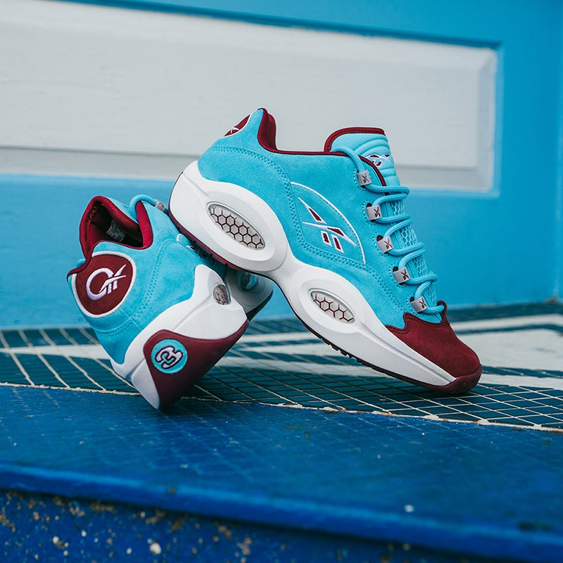 Donning Philly colors, Iverson's latest signature shoe colorway reps the baseball club for the city he starred in.