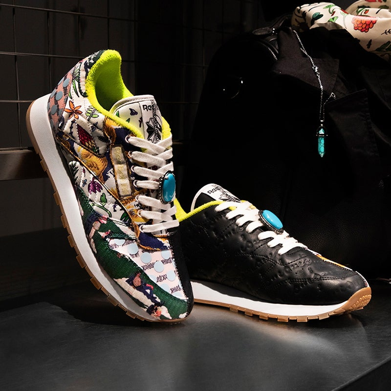 This iconic new Reebok collection is 65 million years in the making.