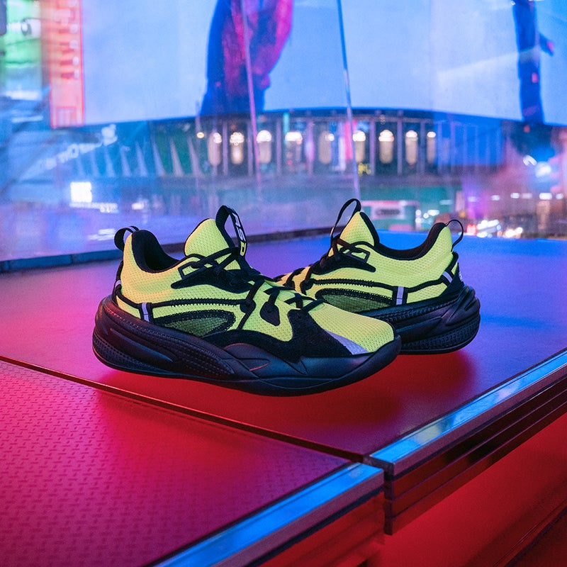 J. Cole's latest drop is inspired by the neon lights of the world's biggest stage – Times Square.