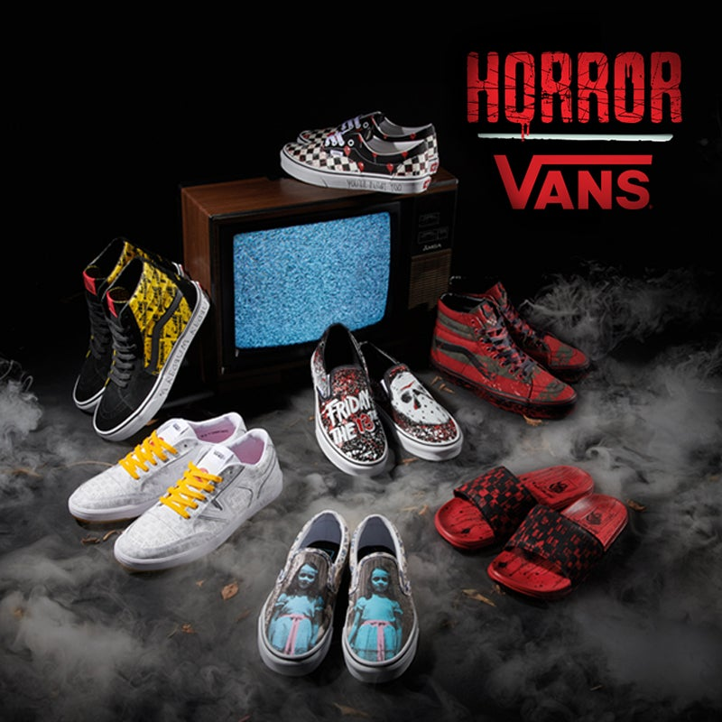 Stay styling in this spine-chilling new collab inspired by cult classic horror films.