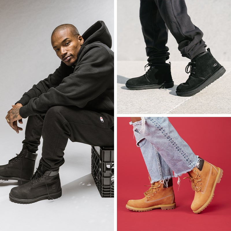 Step into a fresh pair of boots this fall.