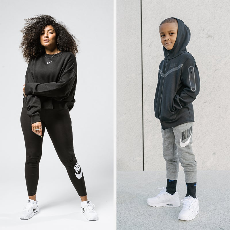 Stay fitted in the flyest Women's and Kids Nike styles.