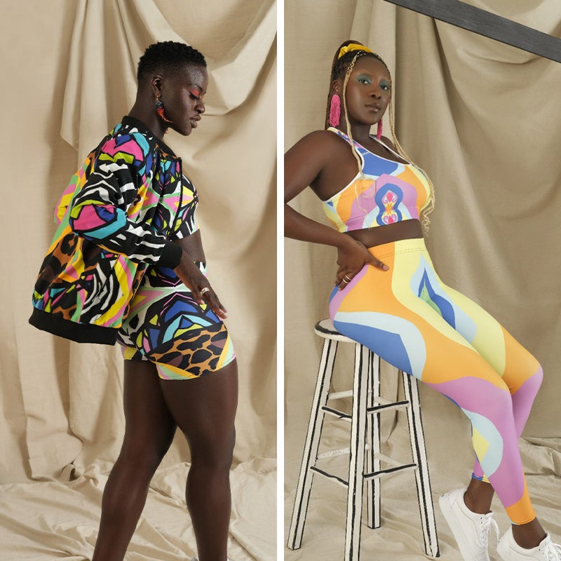 Designer & self-taught Bahamian artist Melissa A. Mitchell's brand is a labor of love