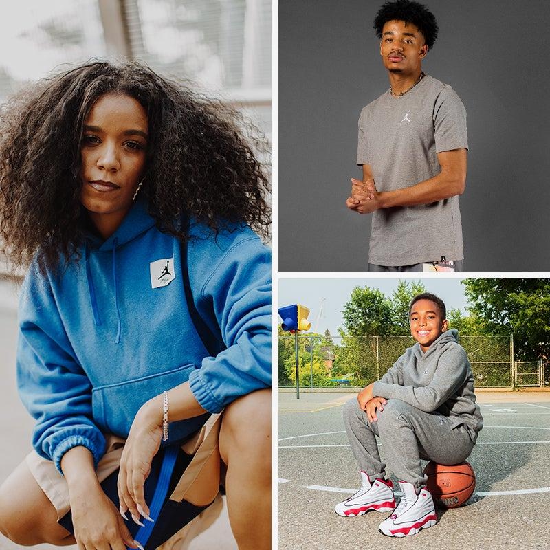 Spruce up your wardrobe in this season's latest Jordan styles.