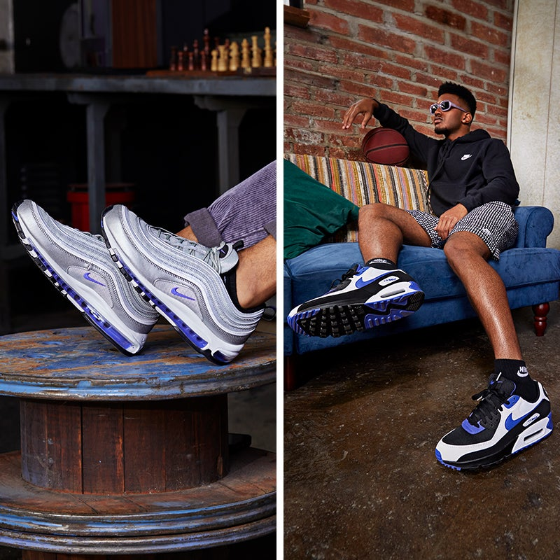 Have your shoe game looking bright and vibrant in this new Air Max pack.