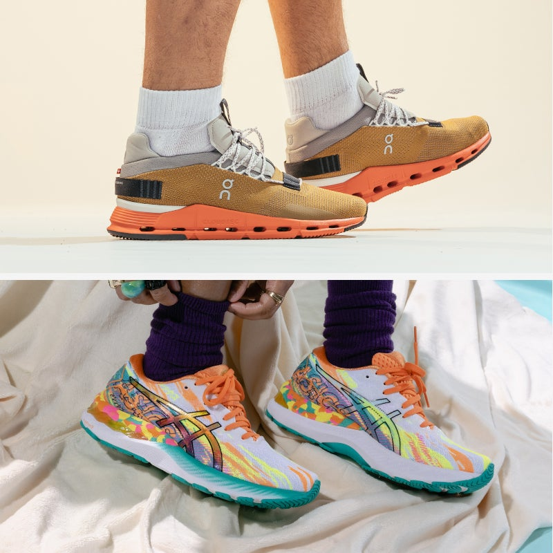 Tighten up your run times rocking the latest running sneaker styles. Shop running shoes