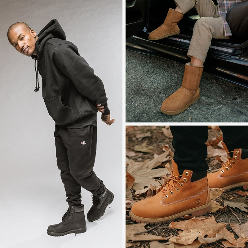 Get ready for cooler weather this szn and re-up on new boots, fleece and more.