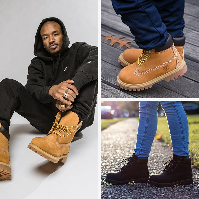 Keep your feet warm on even the coldest of days in a timeless pair of Timbs.