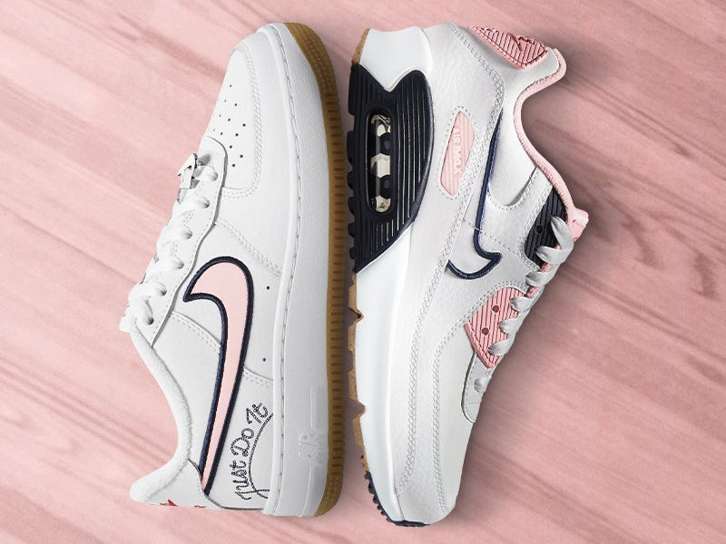 Lace up Nike's latest kicks for the pep rally!