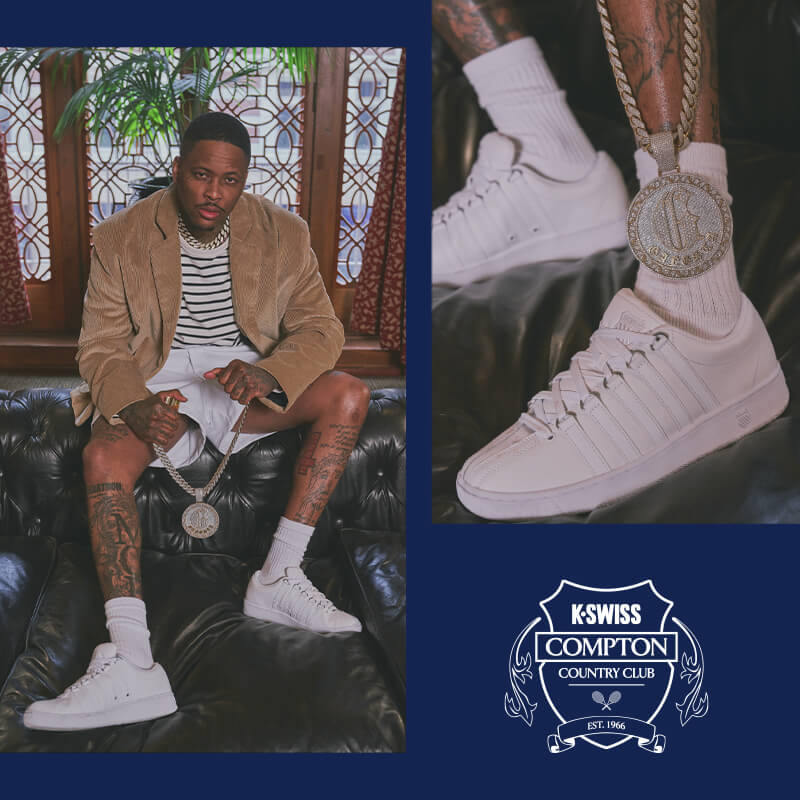 YG & K-Swiss team up to bring L.A. inspired grails exclusively to Foot Locker.