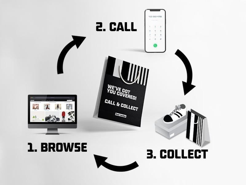 Call & Collect is now available at all Foot Locker locations!