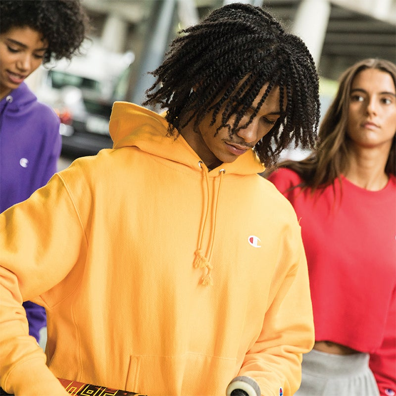 The chill is on. Be ready in Champion's top-rated gear!