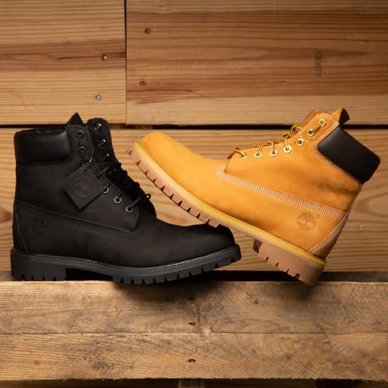 The original go-to Timbs for the streets is here with a full leather work-up.