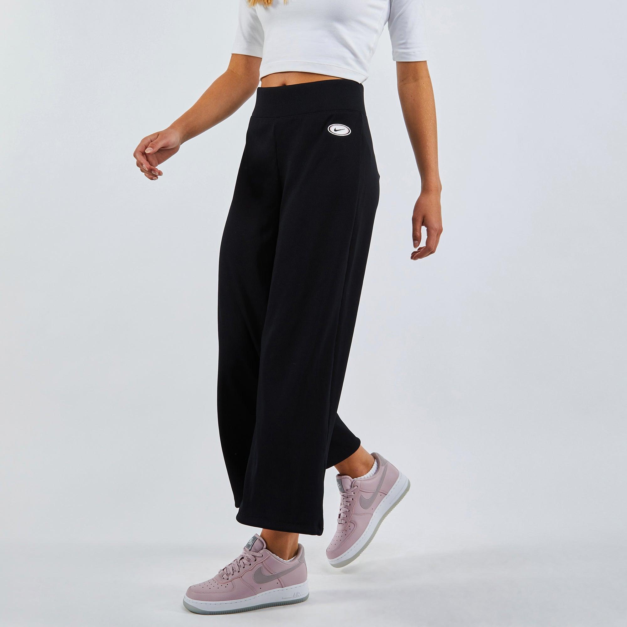 Nike Femme Rib Wideleg Pants