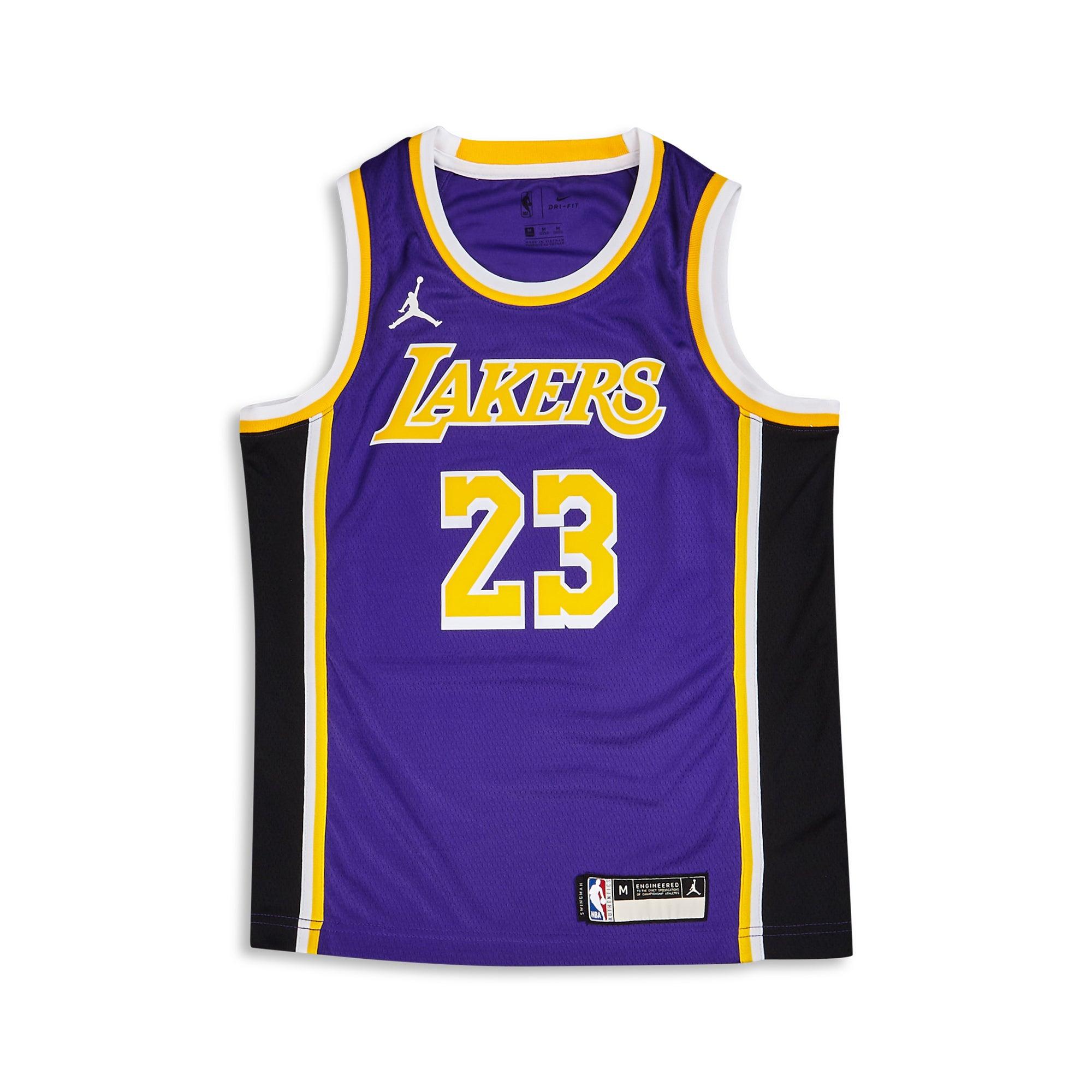 Jordan NBA Swingman Statement Los Angeles Lakers Lebron James