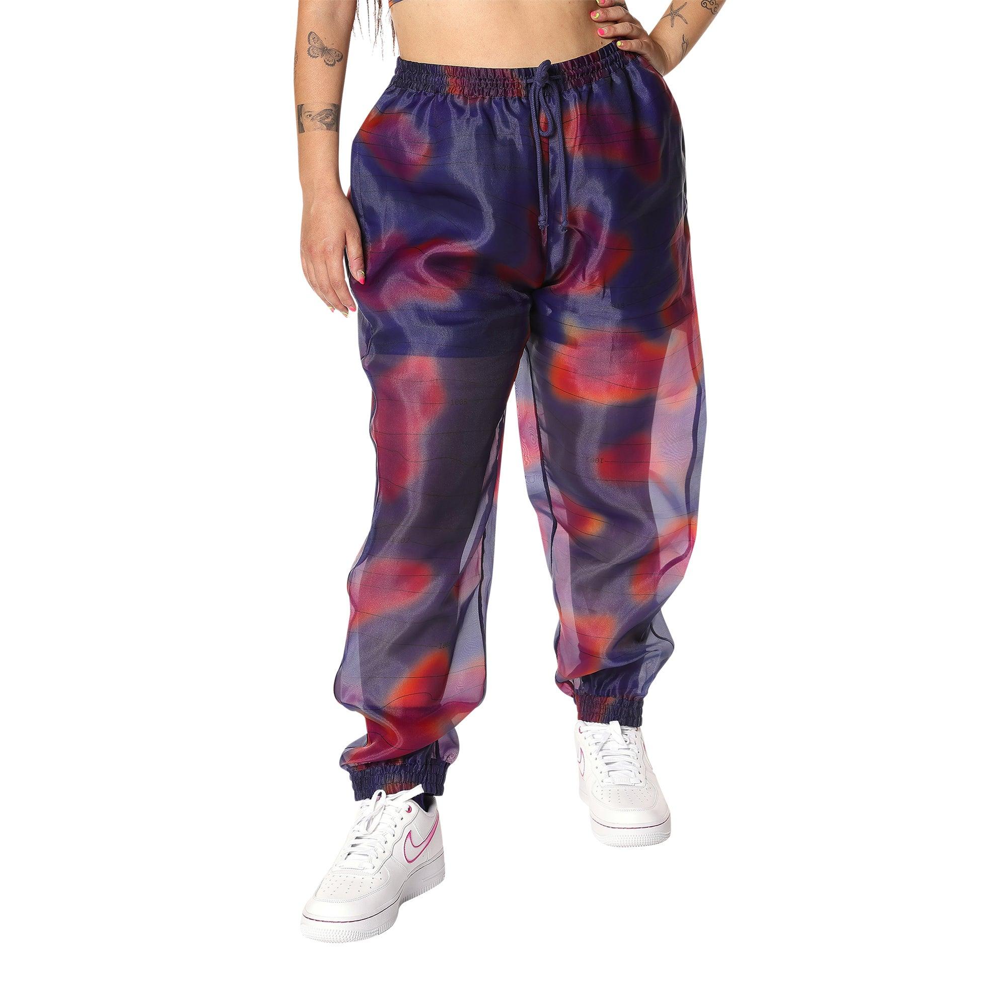Melody Ehsani Organza Track Pants