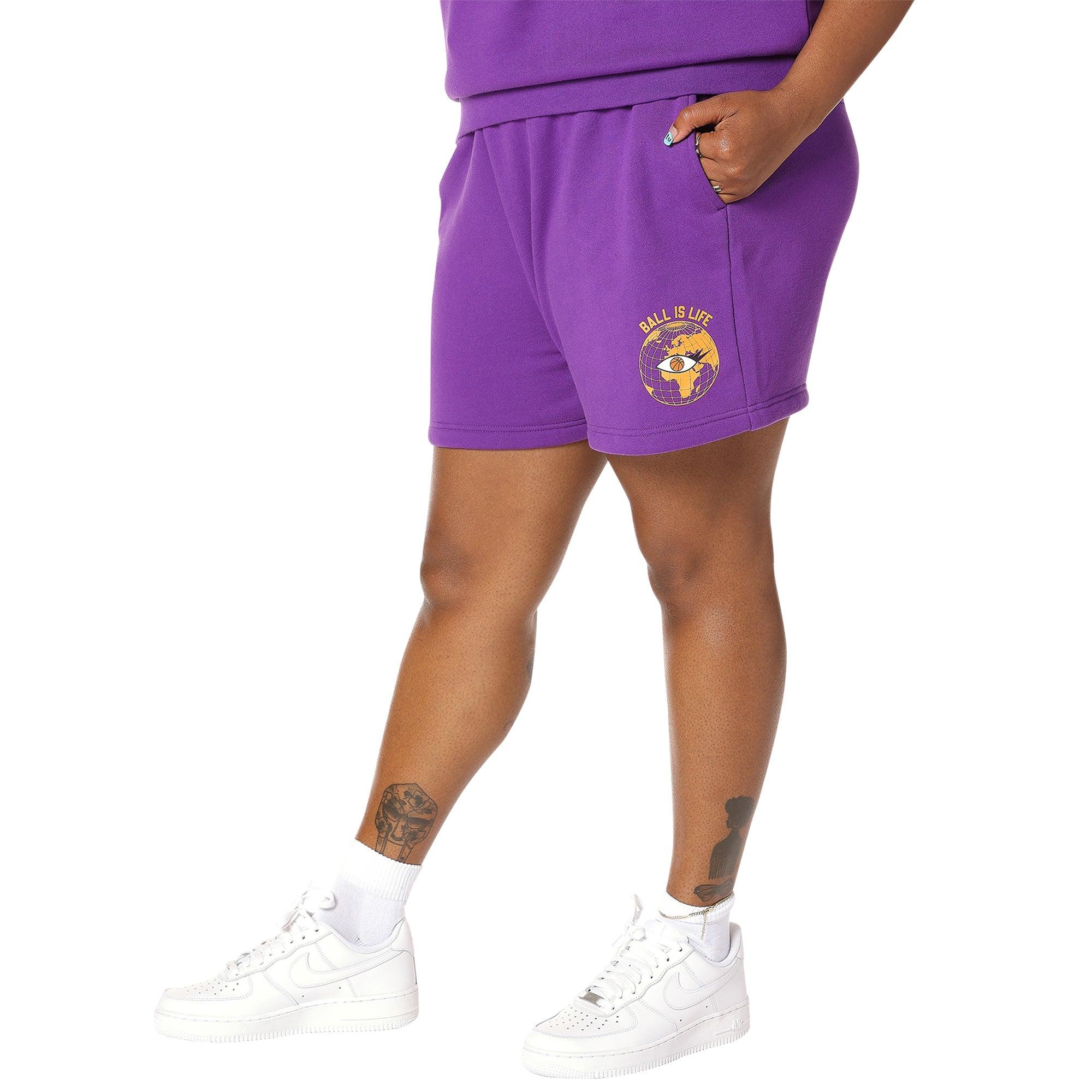 Melody Ehsani Fleece Basketball Shorts