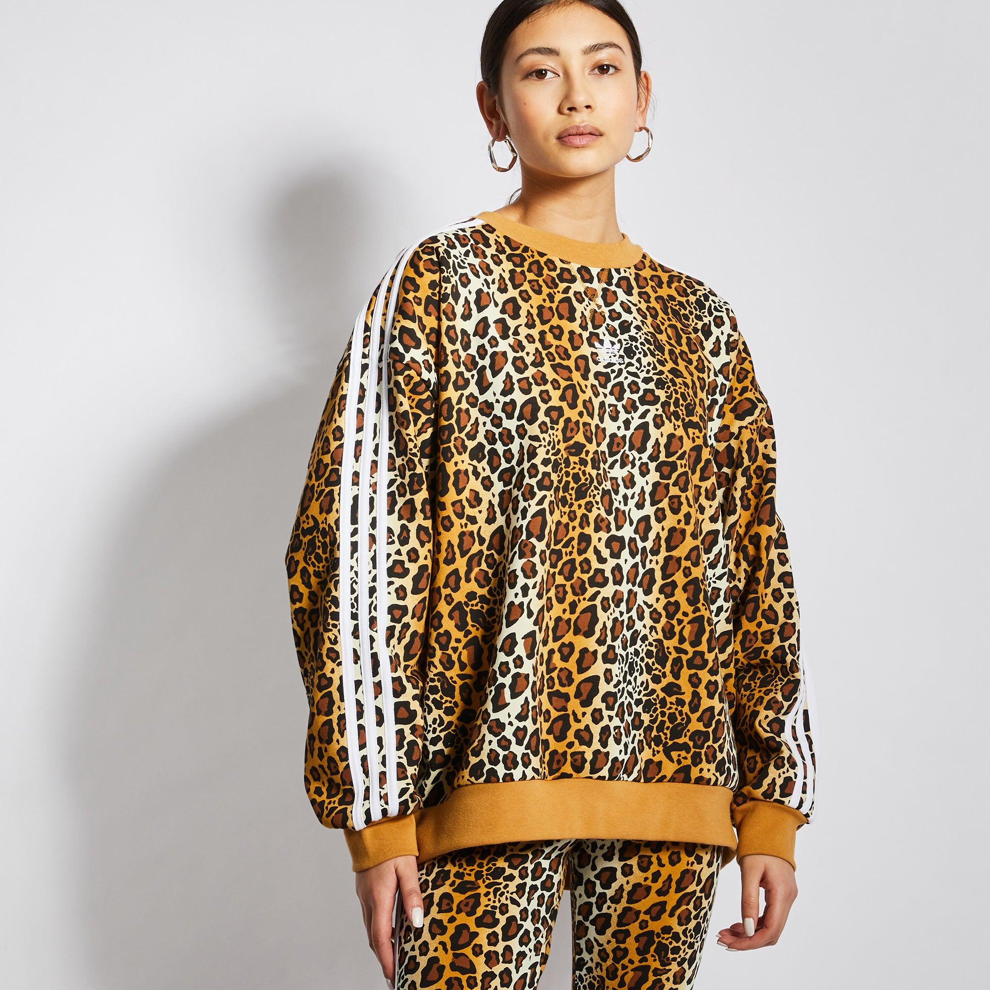 adidas Leopard - Women Sweatshirts