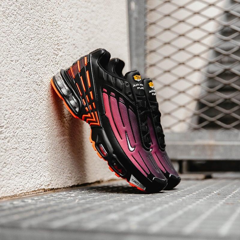 Nike Tuned III RR Black-Grey-Red