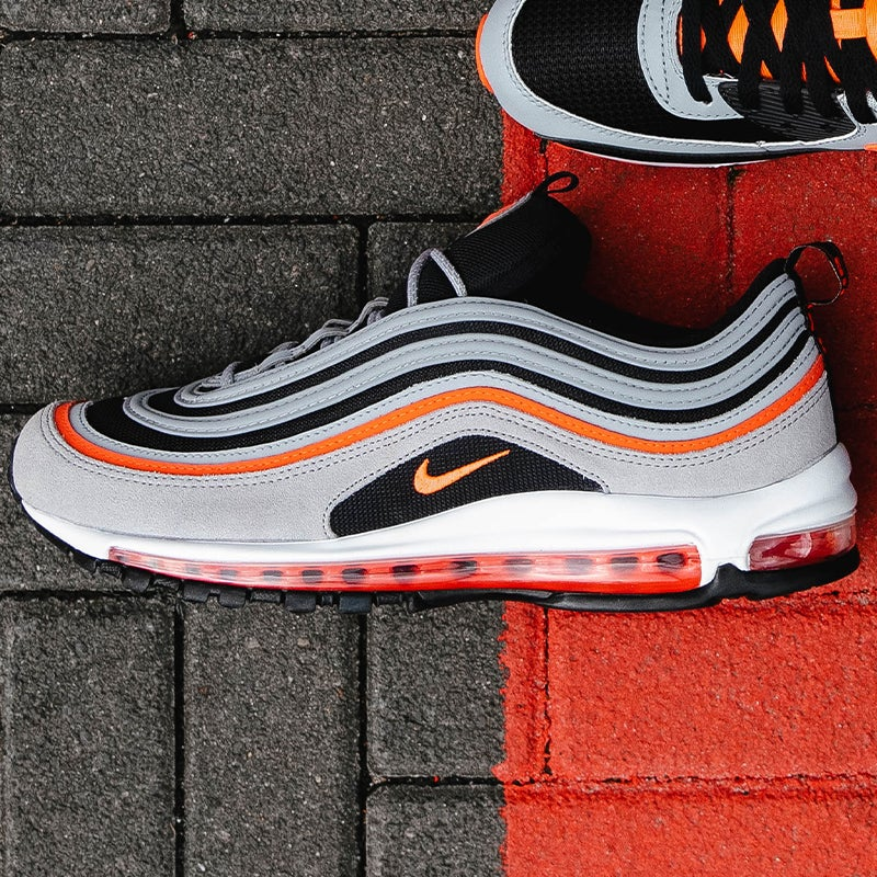 Nike Air Max 97 (Wolf Grey/Radiant Red/Black)